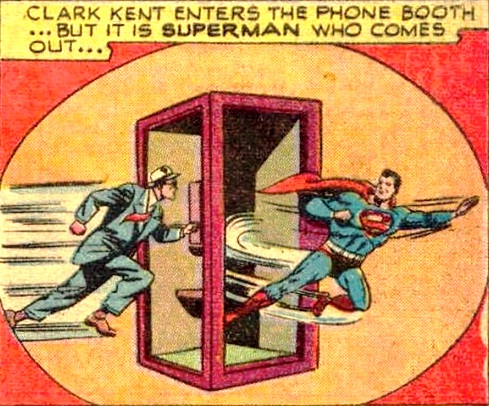 superman phone booth