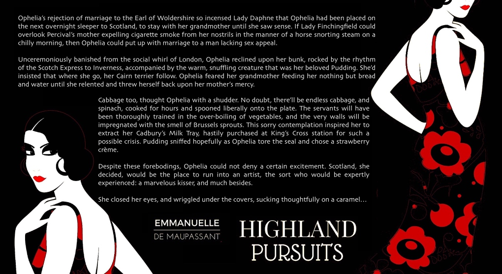 teaser Highland Pursuits - on the train