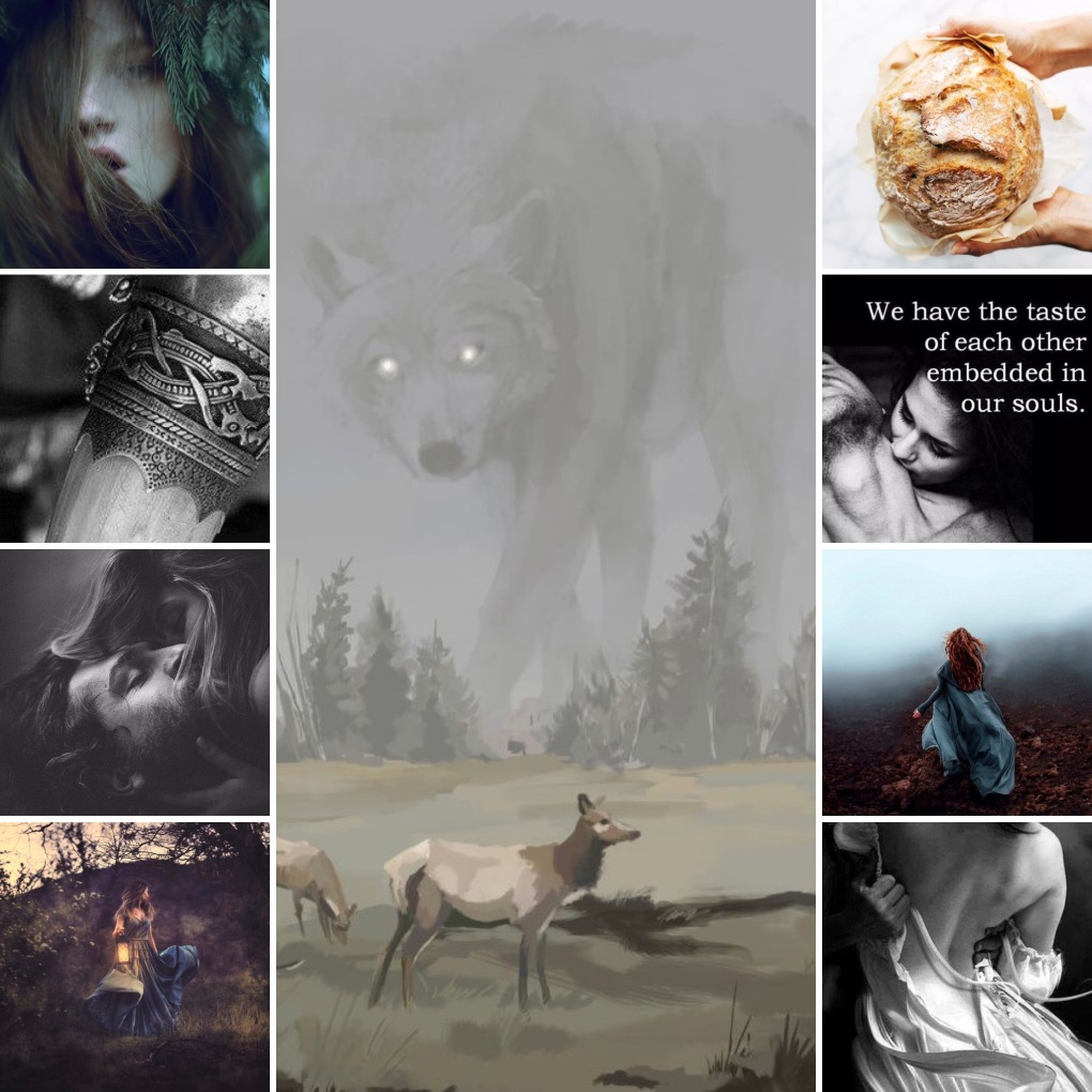 the monster's lover mood board
