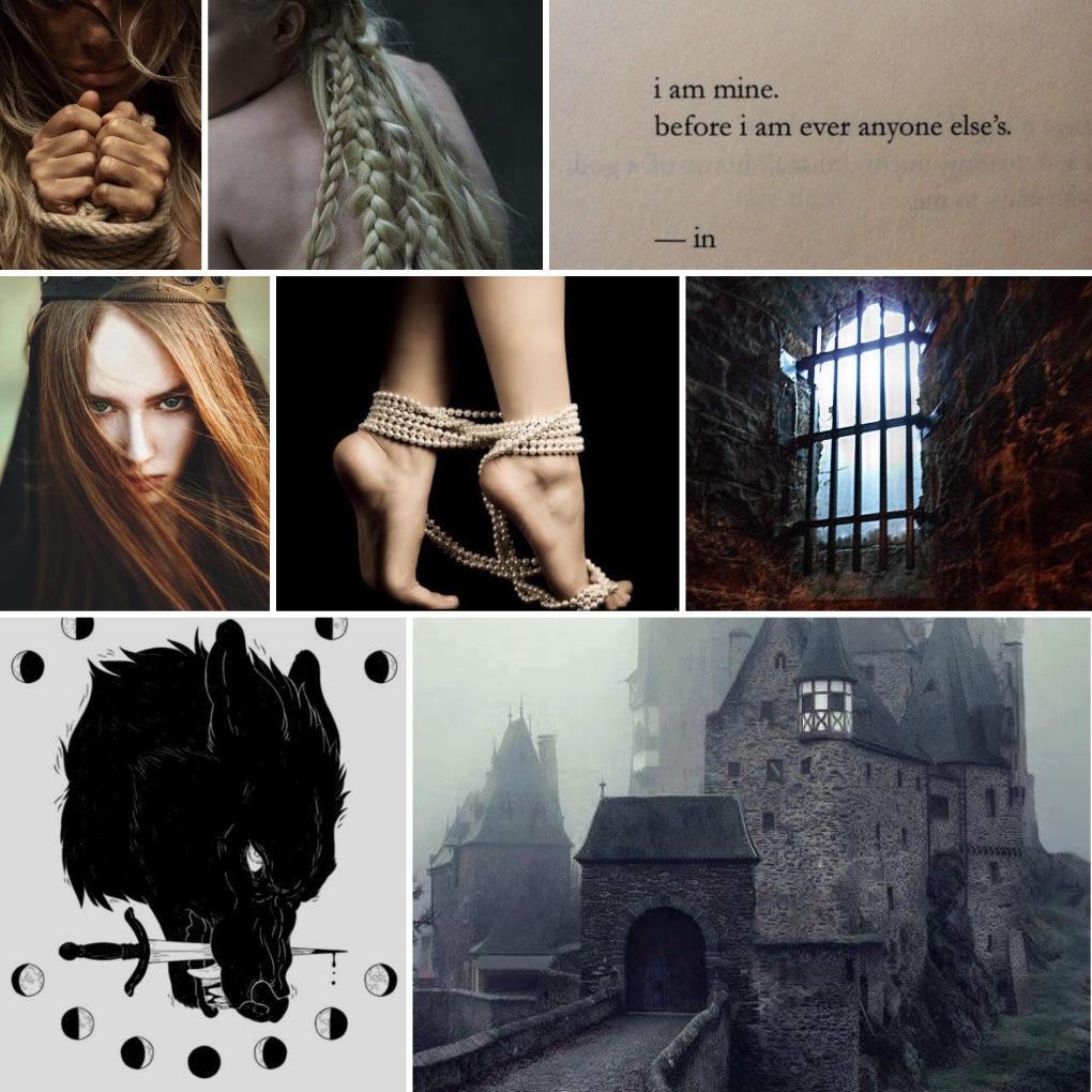 Monster & Prisoner mood board copy